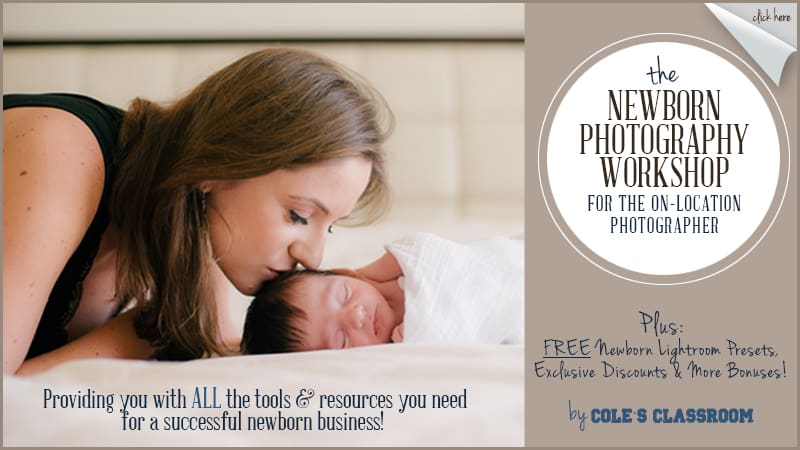 Newborn photography workshops