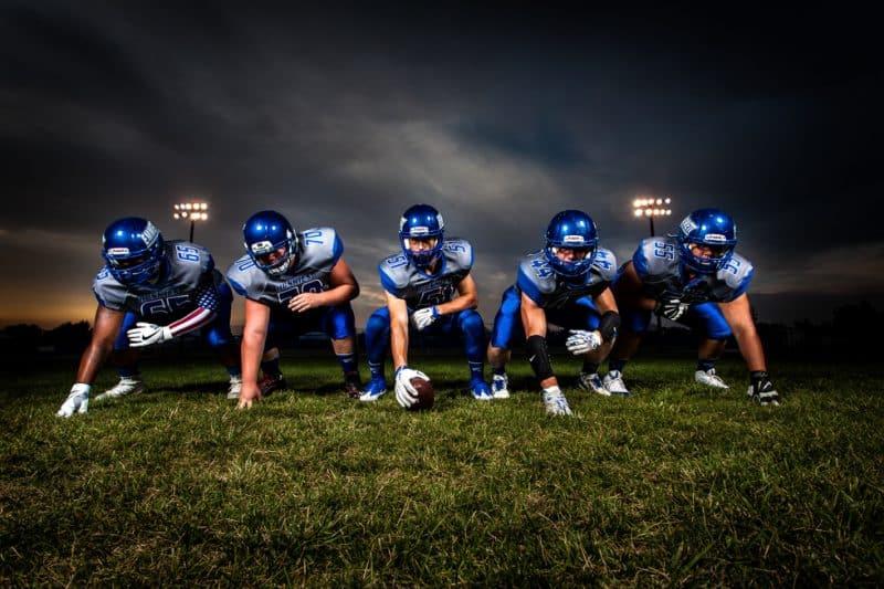 Freelance sports photography