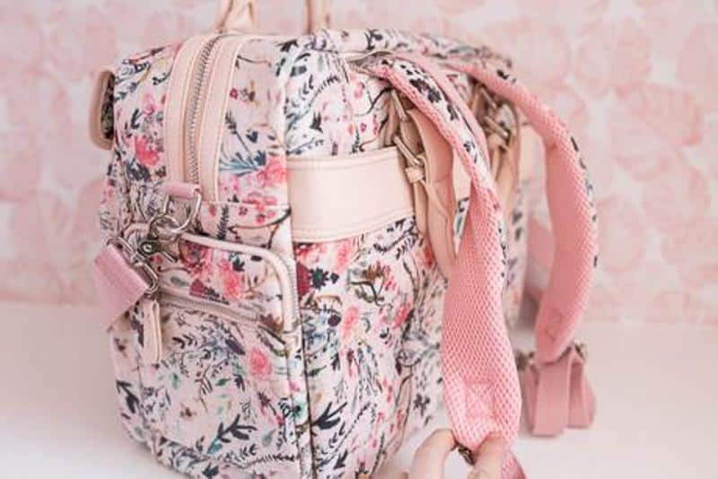 camera bags for women House of Flynn – Blush Fable Floral Evermore
