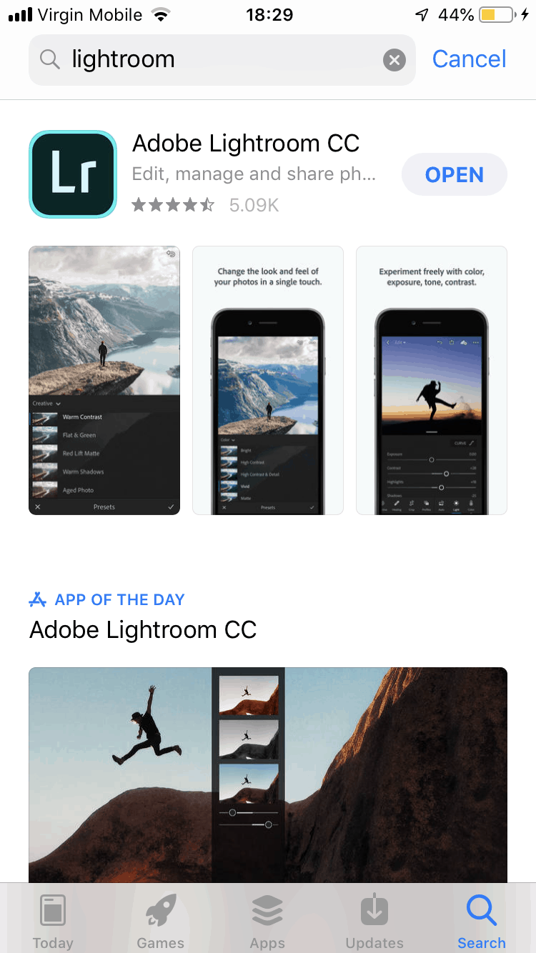 How to Install Lightroom CC Mobile Presets