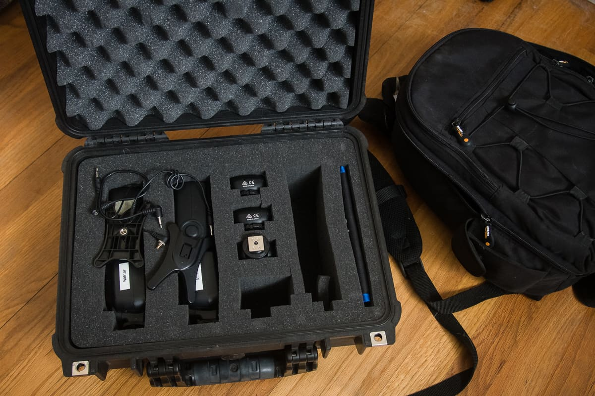 Protect your off camera flash equipment