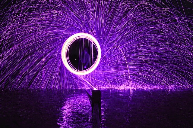Painting with Light: Steel Wool Photography